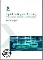 creasing white paper